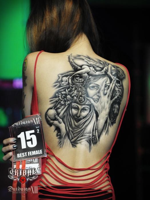 Tribal Gear Dutdutan Tattoo Festival 2012 Tattoo Contest Photo
